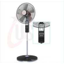 Ventilateur rechargeable de support de 16 pouces 12V, fan de musique (USDC-464)