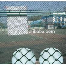 PVC coated diamond fence