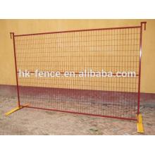 Panneau de clôture temporaire Manufacture Canada / Clôture amovible