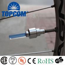 Tampão colorido da válvula do pneu da luz do diodo emissor de luz
