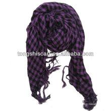 HB177 100 algodão voile cachecol muçulmano homens