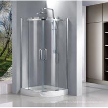 Porte de douche de Quadrant / cabine de douche / usine de salle de douche en verre
