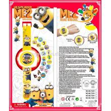 Neues Design Minions Spielzeug Projektion Uhr heiße neue Produkte
