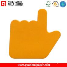 3X3 Cheap Custom Memo Pad Finger Shaped Memo Pad