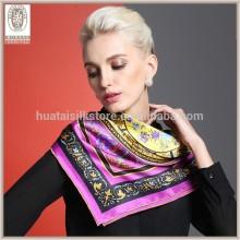 Factory Direct Wholesale Turkish Silk Scarf Wholesale China Silk Scarf