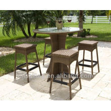 Hot sale Outdoor All Weather bar height patio furniture set