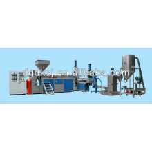 Recyclage extrudeuse de granulation