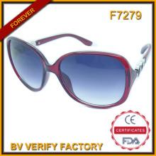 F7279 Modische Werbe PC-Rahmen Sonnenbrillen benutzerdefinierte Marken-Logo graviert