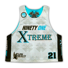 Custom Sublimation reversível Lacrosse Camisas