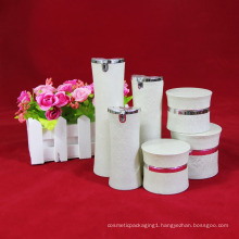 Free sample 30ml 50ml 100ml Acrylic airless customs Shape Bottles Jars for creams