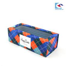 Caixas de presente de dobramento de papelão feito-à-medida luxuosas para a roupa