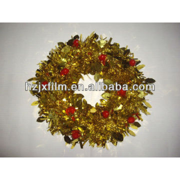 Garland gold polyester film