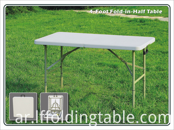 4ft Foldaway Resin Table