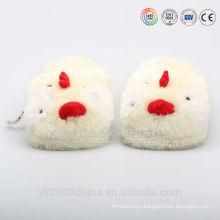 Lovely plush stuffed animal slippers for women