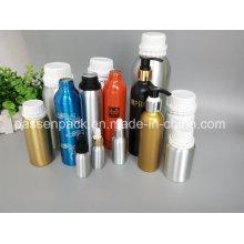 Aluminium Kosmetik Verpackung Flasche für Olivenöl (PPC-AEOB-010)