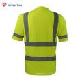 La nueva y graciosa camiseta de seguridad 100% poliéster hecha a mano ansi class 2