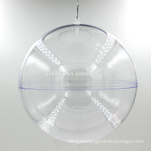 High Quality Cheap clear plastic ball christmas ornaments