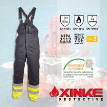 wholesale high quality protective working bib pants for welders