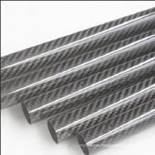3K twill matte carbon fiber braided tube