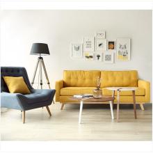 Moderna móveis seccional japonesa simples sala canto sofá sofá da tela