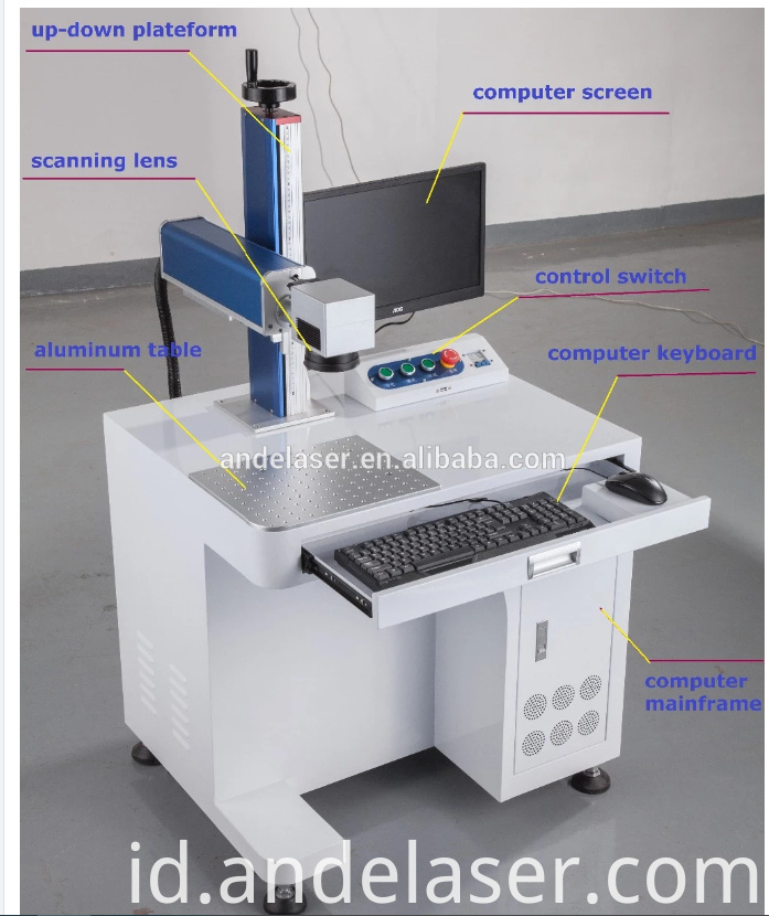Fiber Laser Marking Machine with air cooling