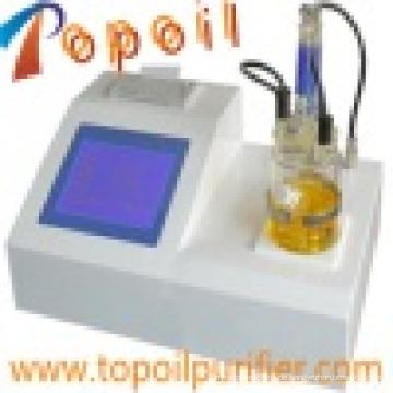 Öl-Isolieröl Turbinenöl Karl Fischer Feuchtemessgerät (TP-2100)