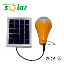 2015 promocional 2Years garantía recargable Led bombillas solares hogar