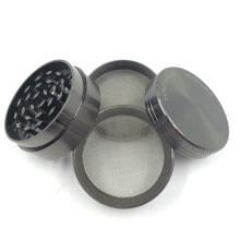 Verchromte Metall Kräuterschleifer für Zigaretten Tabak Rauchen (ES-GD-011-S)