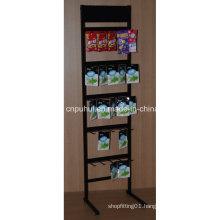 Metal Floor Standing Seasonings Display Rack (PHY1065F)