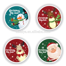 Merry Christmas Hang Tag/paper gift tag with custom design