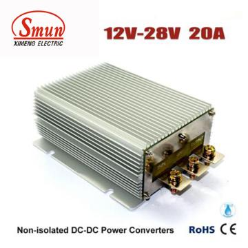 Convertidor impermeable de IP68 12V a 28V 20A 560W DC-DC