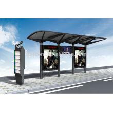 Abri de transit pour la publicité