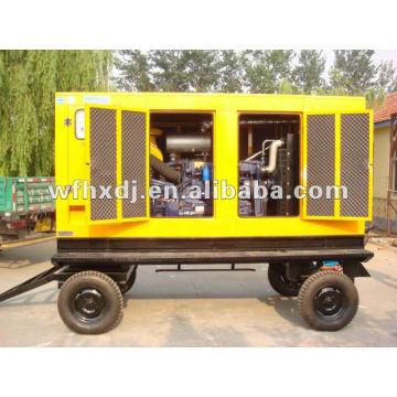 8kw-1500kw mobile silent diesel generator set