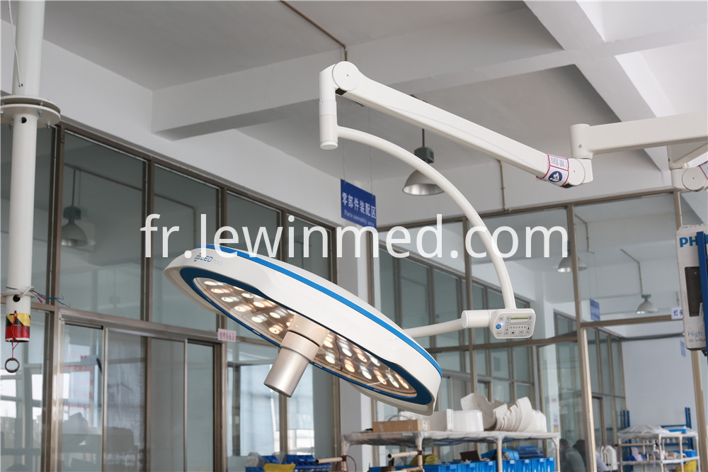 Surgical lamp in hospital