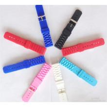 Eco-Friendly Waterproof Silicone Sport Watch Band Watch Strap