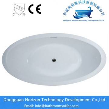 Shoe-shaped acrylic bathtubs seamless tub