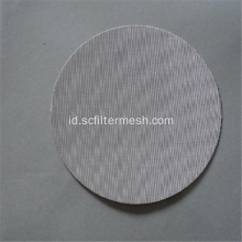 Ultrathin Lebar 304 316 Stainless Steel Filter Mesh