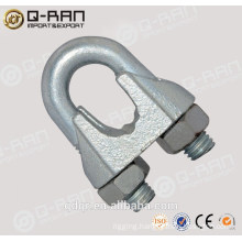 Qingdao Rigging Casting Malleable Iron Clamp Din741 Wire Rope Clip