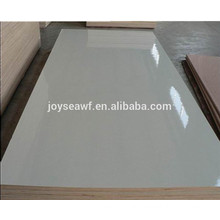 High Quality 18mm glossy Kitchen Cabinet HPL Plywood