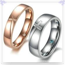Fashion Lover Rings Bijoux en acier inoxydable Bague à doigts (SR570)