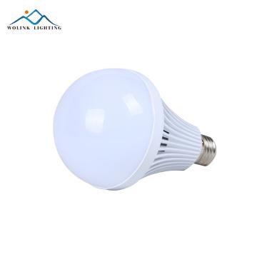 High lumen e27 5w 7w 9w 12w PC Aluminum emergency rechargeable bulb led lamp