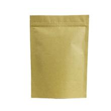 Online shopping kraft paper bag paper kraft bag kraft stand up pouch