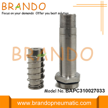 9.9mm OD Stainless Steel Tube Solenoid Stem Plunger
