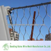 Handgewebte Drahtseil Ferrule Mesh Zoo Mesh / Tier Gehege / Voliere Netting (made in China)