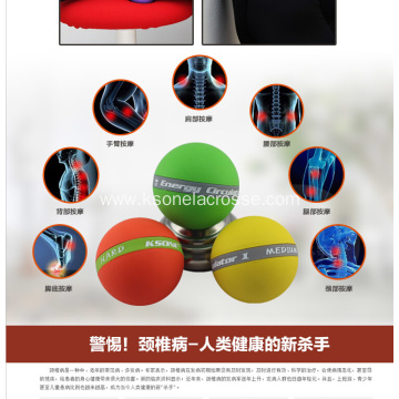 roller ball back massager spiky massage ball trigger points