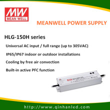 Драйвер светодиода питания питания IP65 150Вт (Meanwell HLG - 150H)