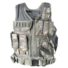NIJ nível 3A colete à prova de balas tático camuflagem militar armadura corporal balístico