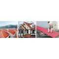 Plastic PVC+ PMMA/Asa Wave/Glaze Roof Tile Machine