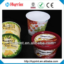 2015 first class Custom IML In Mold Label for food packaging