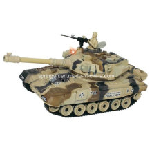 Combates Tank Camuflagem Cor brinquedo de plástico militar